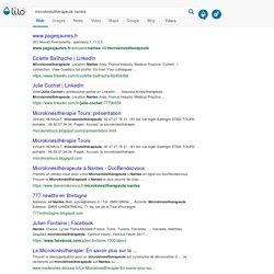 microkinésithérapeute nantes - Lilo