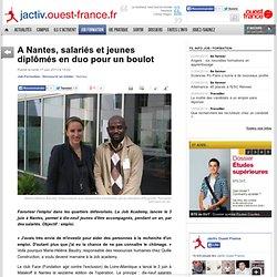 A Nantes, salariés et jeunes diplômés en duo pour un boulot