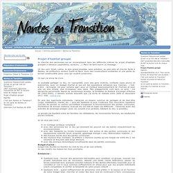Nantes En Transition - Projet d'habitat groupé