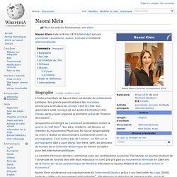 Naomi Klein - Wiki