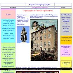Napoleon 1er empire géographie