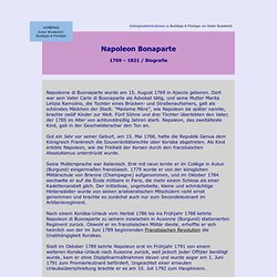 Napoleon (Biografie)