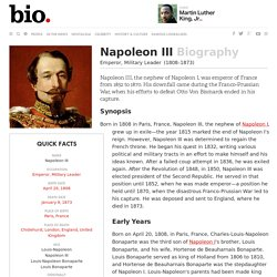 Napoleon III - Biography - Emperor, Military Leader
