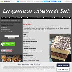 Napolitain - Les experiences culinaires de Soph