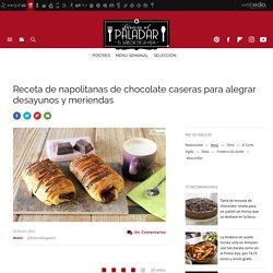 Napolitanas de chocolate caseras, para alegrar desayunos y meriendas