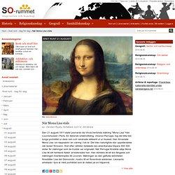 När Mona Lisa stals