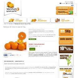 Naranjas de mesa de Valencia en caja de 5 Kg
