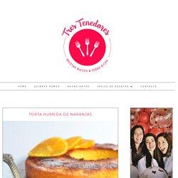 Torta humeda de naranjas / Recetas dulces, fáciles y ricas! / Tres Tenedores
