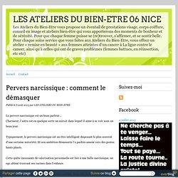 Pervers narcissique : comment le démasquer - Sylvie Mauchausse