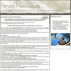 Description du pervers narcissiques et manipulateurs pervers - Geneviève Schmit - Paris