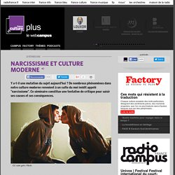 NARCISSISME ET CULTURE MODERNE