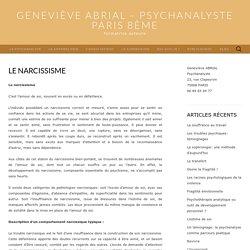 Geneviève Abrial - Psychanalyste Paris 8ème