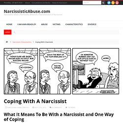 Coping With A Narcissist - Information Guide to Narcissism