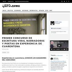 Primer Concurso de Escritura Viral Narradorxs y poetas en experiencia de cuarentena – QEPD.news