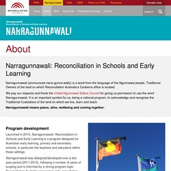 Narragunnawali Reconciliation in Schools and Early Learning