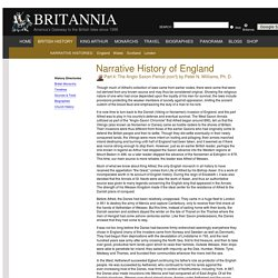 Narrative History of England - Part 4: The Anglo Saxon Period