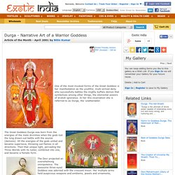 Durga - Narrative Art of a Warrior Goddess