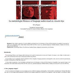 Silvia Ragusa: La narratología fílmica o el lenguaje audiovisual en Amada hija - nº 36 Espéculo