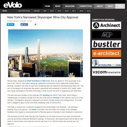 New York's Narrowest Skyscraper