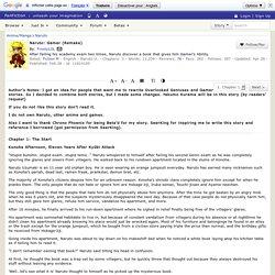 Naruto: Gamer (Remake) Chapter 1, a naruto fanfic