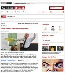 Narzissten machen schneller Karriere - SPIEGEL ONLINE