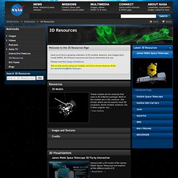 Nasa 3D Resources