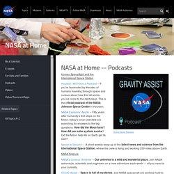 NASA at Home : des podcasts pour avoir la tête dans les étoiles