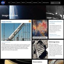 NASA Featured Images and Galleries