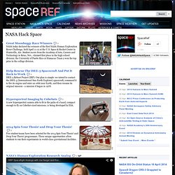NASA Hack Space | SpaceRef