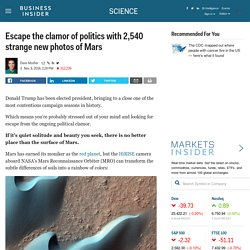 NASA has just released 2,540 gorgeous new photos of Mars