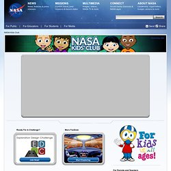 NASA Kids' Club Home Page