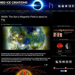NASA: The Sun's Magnetic Field is about to Flip