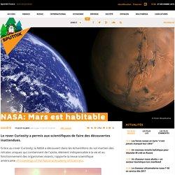 NASA: Mars est habitable
