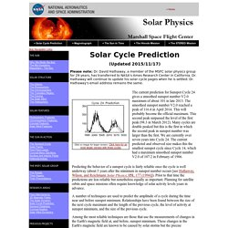 NASA/Marshall Solar Physics