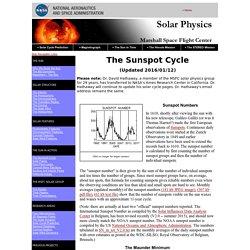 Marshall Solar Physics