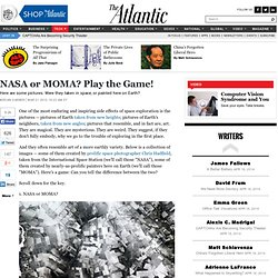 NASA or MOMA? Play the Game!