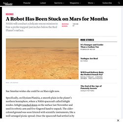 NASA's Plan to Free Its Stuck Mars Probe From InSight