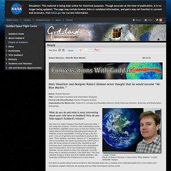 NASA - Robert Simmon - AKA Mr. Blue Marble