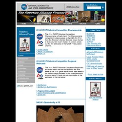 NASA Robotics - Robotics Alliance Project