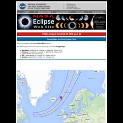Total Solar Eclipse of 2015 Mar 20