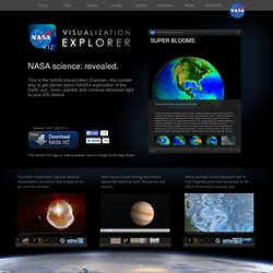 Visualization Explorer for the iPad - Home
