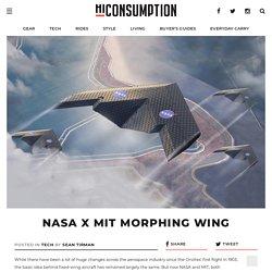 NASA x MIT Morphing Wing