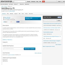 NASBerry Pi | Free software downloads at SourceForge