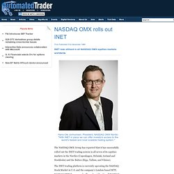 NASDAQ OMX rolls out INET