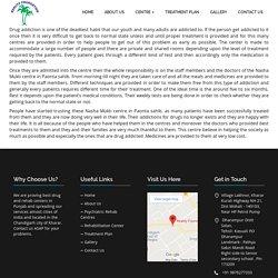 Nasha Mukti Kendra in Paonta Sahib +91 9876277333