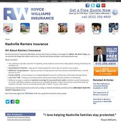 Renters Insurance Nashville