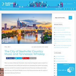 The city of Nashville Tennessee - capital of Country music