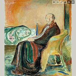 Edvard Munch, Self-Portrait with the Spanish Flu – Nasjonalmuseet – Collection