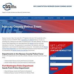 Nassau County Police Exam - Civil Service Success