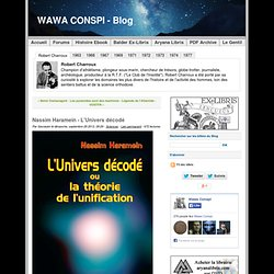 Nassim Haramein - L'Univers décodé